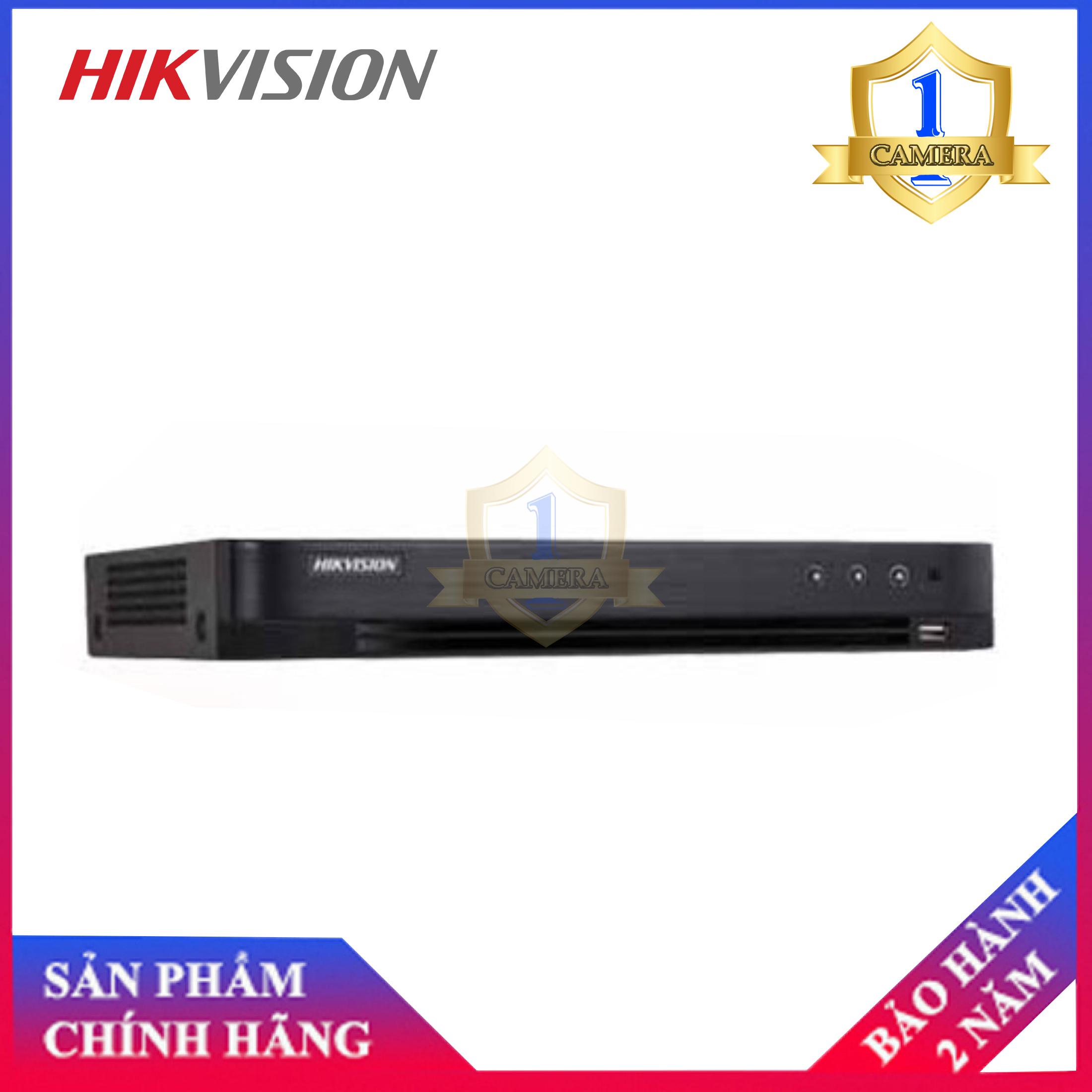 Đầu ghi 8 kênh Hikvision DS-7208HUHI-K1 (không hổ trợ cổng Alarm )