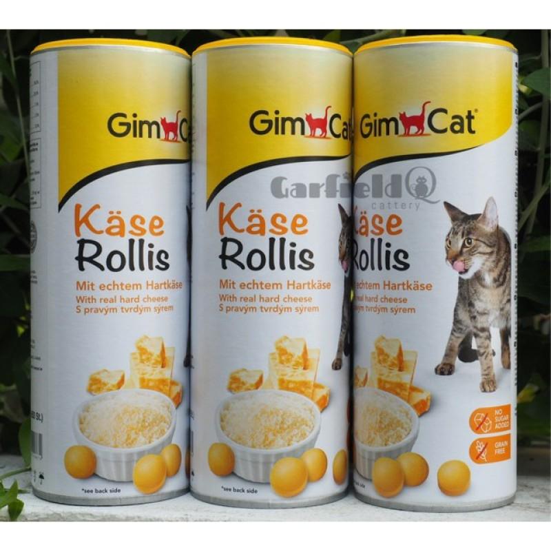 Viên Phô Mai Gimcat Thơm Ngon Cho Mèo Nhập Khẩu Từ Đức - TÚI ZIP 25 VIÊN