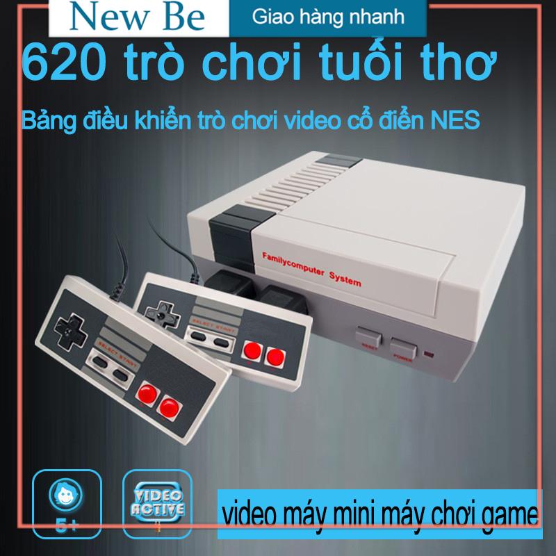 【New Be】Bảng điều khiển trò chơi đôi retro mini tetris trò chơi cổ điển 620 trong một bảng điều khiển trò chơi