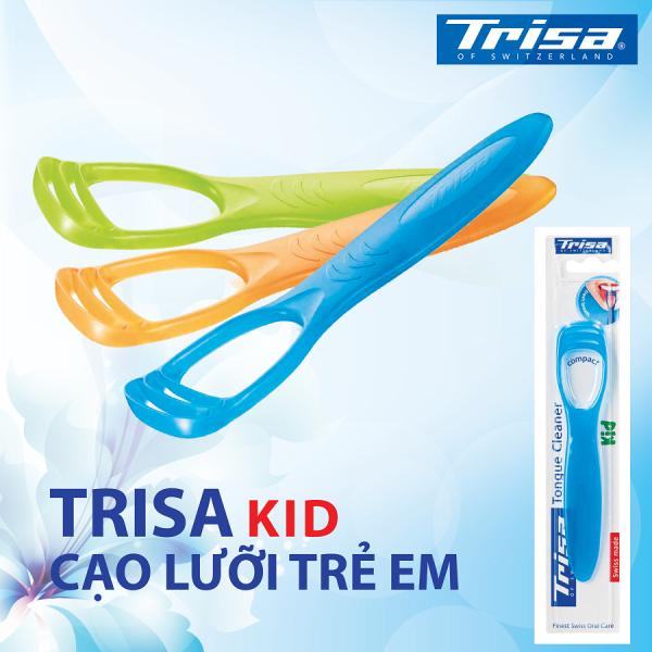 Dụng Cụ Cạo Lưỡi Trẻ Em Trisa Kid giá rẻ