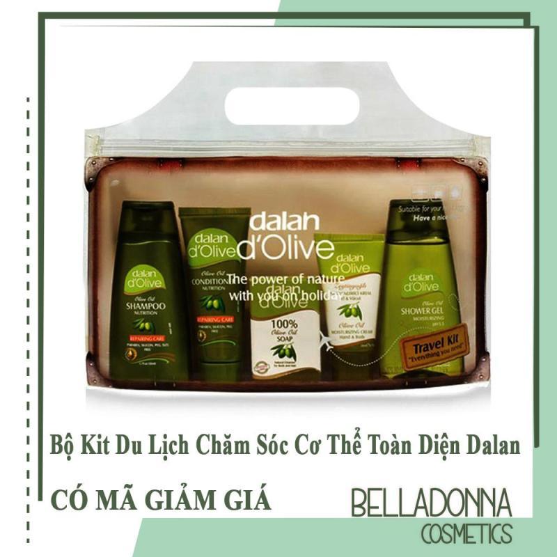 Bộ Kit du lịch chăm sóc cơ thể toàn diện từ tinh dầu ô liu Dalan dolive Travel Kit