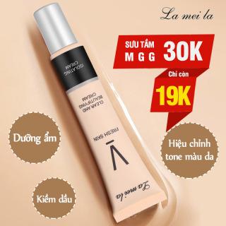 Kem lót trang điểm Lameila 30ml dưỡng ẩm da, hiệu chỉnh tone màu da, kiềm dầu, che khuyết điểm, kem makeup da XP-KL02 thumbnail