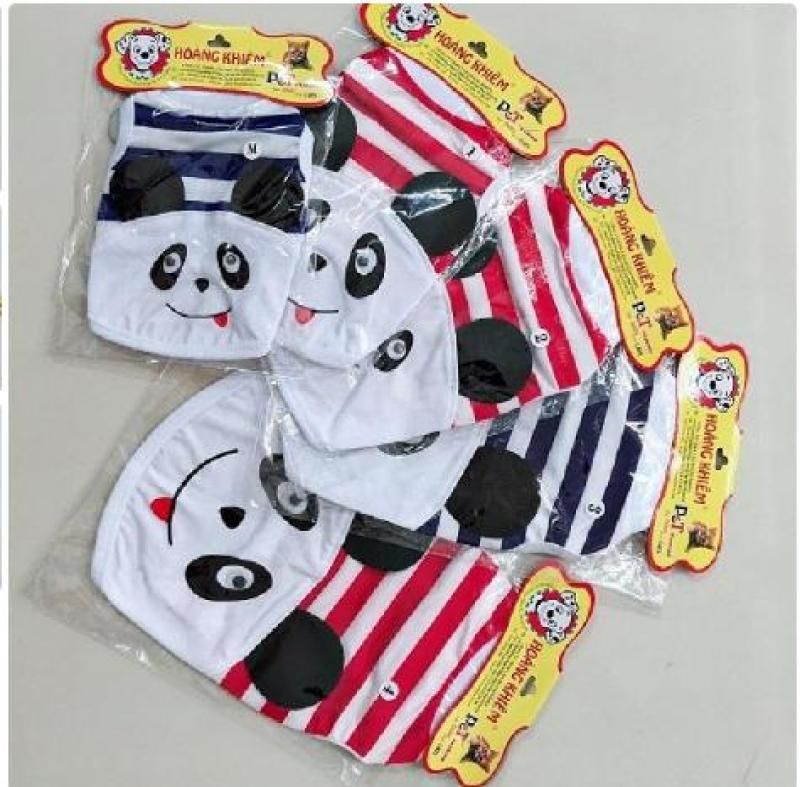 Áo cho chó mèo và thú cưng gấu Panda đủ size kích cỡ, màu
