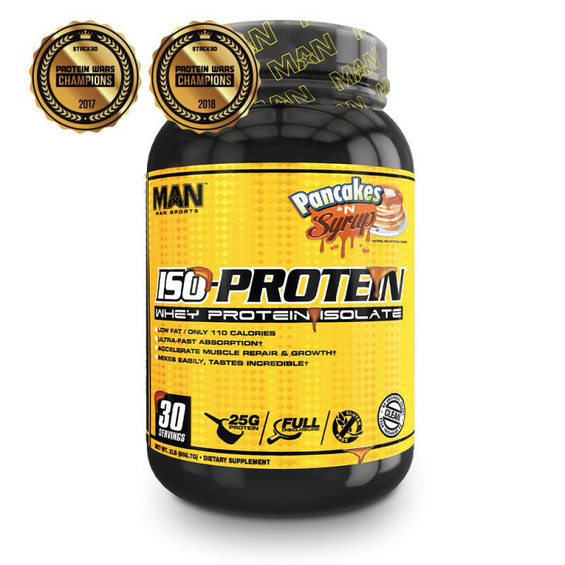 Whey Isolate từ nhà vô địchProtein War Champion : Man Sports USA