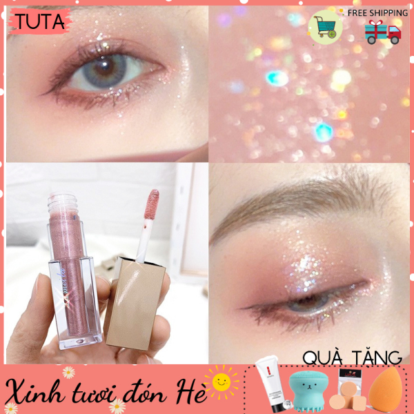 Phấn nhũ viền mắt ánh kim lấp lánh Lameila Liquid Eye Shadow TUTA-PN1