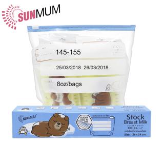 Combo 05 và 10 Túi Zip Sunmum bảo quản sữa chính hãng Thái Lan thumbnail