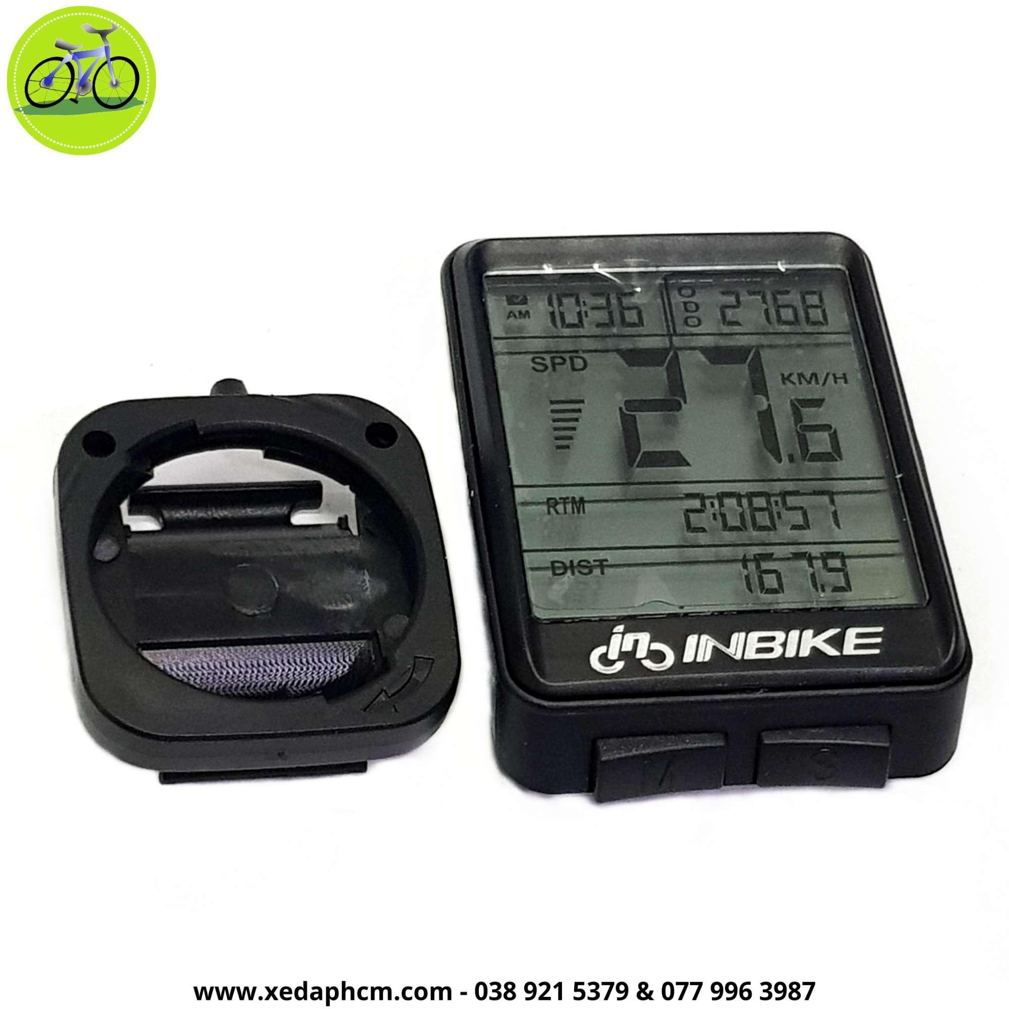 Mua Đồng Hồ đo tốc độ xe đạp Inbike chống nước không dây
