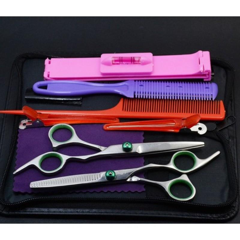Bộ dụng cụ cắt tóc 8 món,dụng cụ cắt tóc 8 món,kéo cắt tóc 8 món giá rẻ