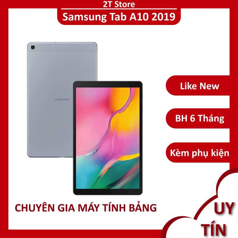 Máy tính bảng Samsung Tab A10 2019 Ram 3GB đẹp sang trọng bản Mỹ (Wifi+4G) chính hãng