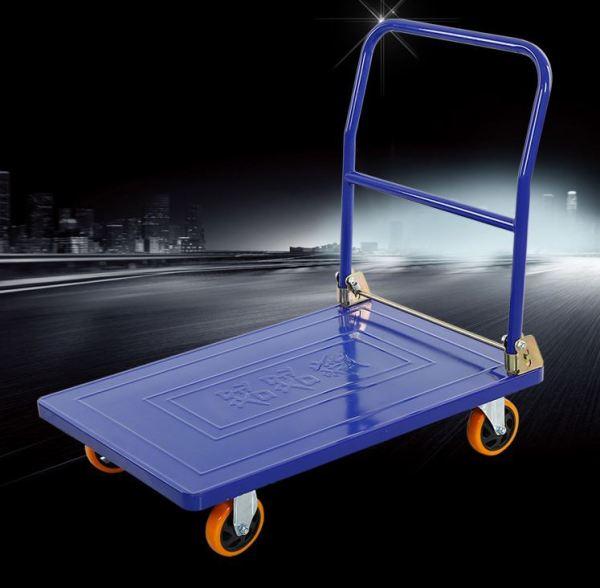 Xe đẩy tay 4 bánh gấp gọn Tải trọng Lớn  350kg Tiện Ích- XDT05