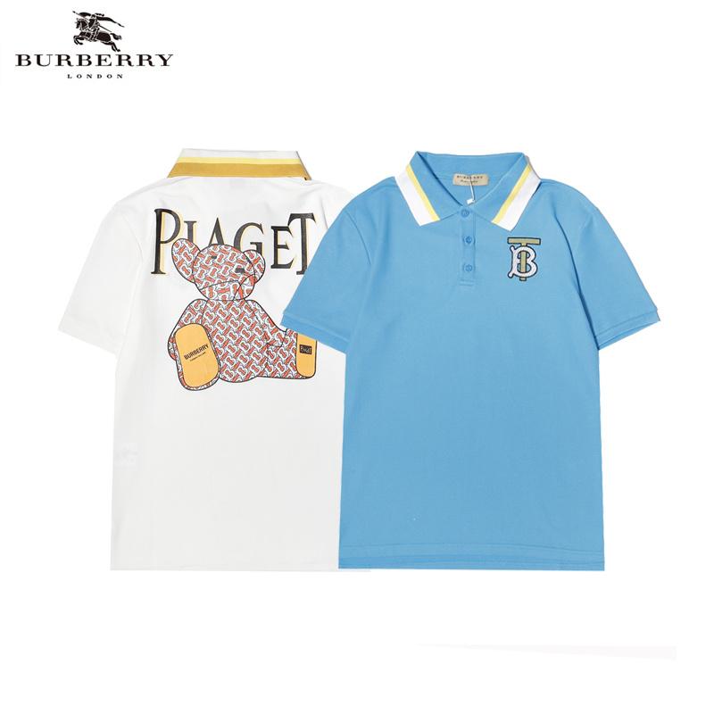 áo polo In Hình Gấu Burberry Thời Trang