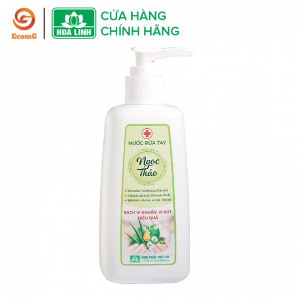Nước rửa tay dược liệu Ngọc Thảo 230ml- dưỡng da, sát khuẩn - NT2-01 nhập khẩu