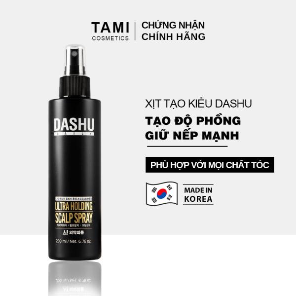 Keo xịt tạo kiểu tóc DASHU Daily Ultra Holding Scalp Spray xịt tóc giữ nếp lâu, không gây hư tổn tóc, dành cho cả nam và nữ keo xịt tóc TM-XT02 giá rẻ