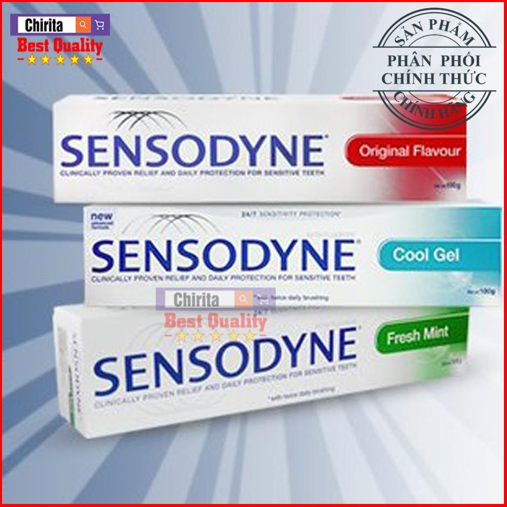 Combo 4 Kem Đánh Răng Sensodyne 100g Nhiều Loại - Kem Đánh Răng Chống Ê Buốt ( Shop Có Kem Tẩy Trắng Răng ) - SS100