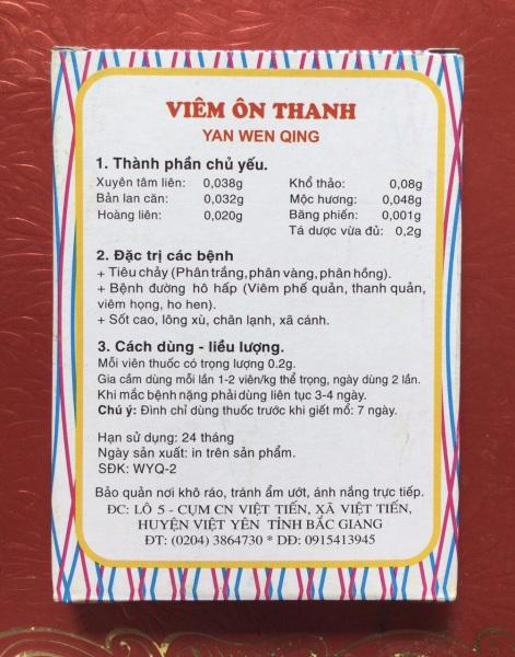 VIÊM ÔN THANH