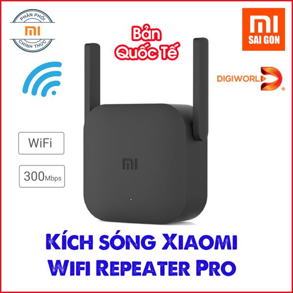 Giá [BẢN QUỐC TẾ] Thiết bị kích sóng Xiaomi Wifi Repeater Pro - Digiworld phân phối
