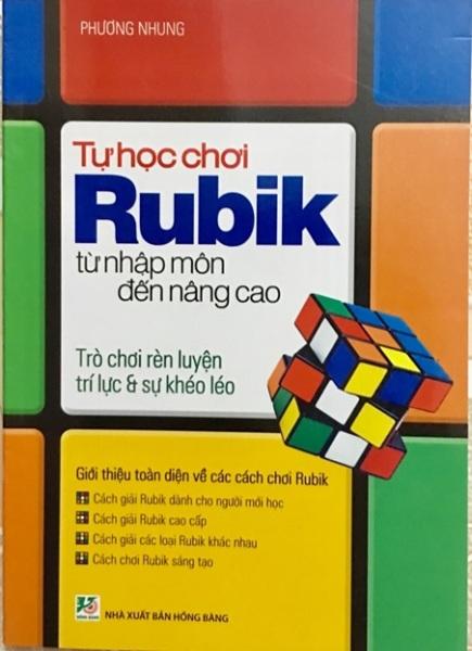 Mua Sách Học Rubic - Tự Học Chơi Rubik