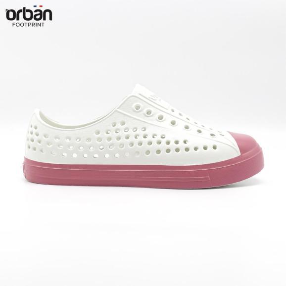 Giày thông hơi cao cấp Urban Footpritn EVA fylon D2001 cho bé màu trắng hồng giá rẻ