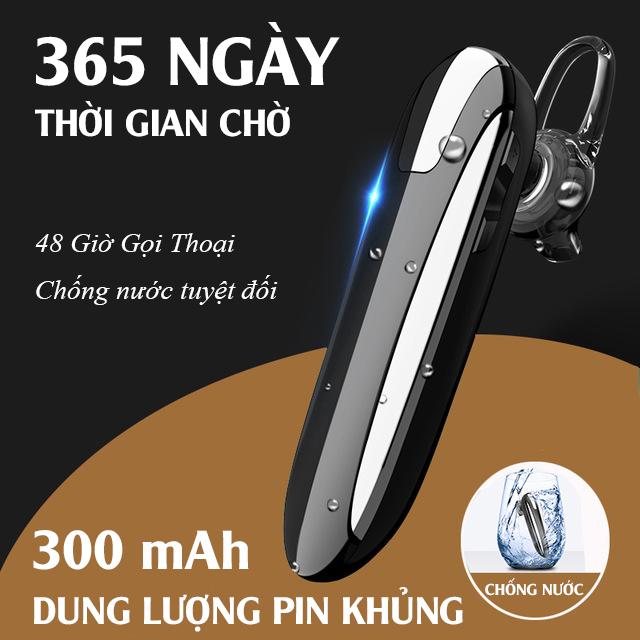 [PHIÊN BẢN 2020] Tai nghe bluetooth, tai nghe nhét tai không dây X8 Chống nước, Pin 300mAh, Đàm thoại 48h, Nghe nhạc 36h - Hỗ trợ điện thoại iOs & Android - Tai nghe khong day X8,tai nghe bluetooth khong day - Tonoto Store
