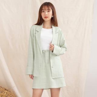 Chân váy nữ đẹp VA10136 GUMAC thiết kế ngắn 2 nút thumbnail