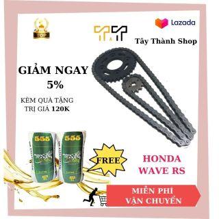 Bộ nhông sên dĩa xe Honda Wave RS Wave A Wave RSX Wave S Future Neo Blade- Tây thành Shop chuyên nhông sên dĩa thumbnail