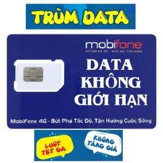 SIM 4G MOBIFONE TRÙM DATA FV99 (KHÔNG GIỚI HẠN DUNG LƯỢNG, Tốc Độ Luôn Luôn Cao 2Mbs) - TÀI KHOẢN 0Đ thumbnail