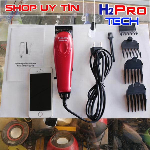 Tông đơ cắt tóc cắm điện philips 308 ( tăng thêm 3 cữ tông đơ ) nhập khẩu