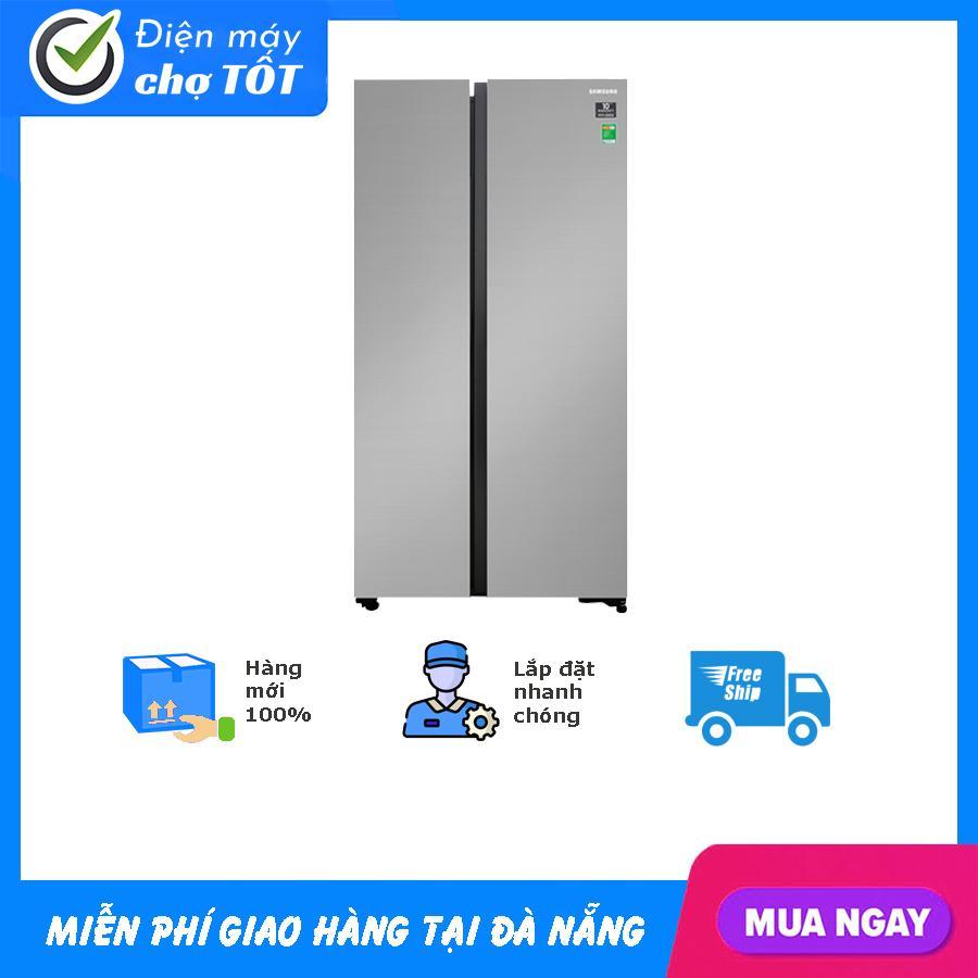 Tủ Lạnh Samsung Inverter 647 Lít RS62R5001M9/SV (2019) Cùng Giá Khuyến Mãi Hot