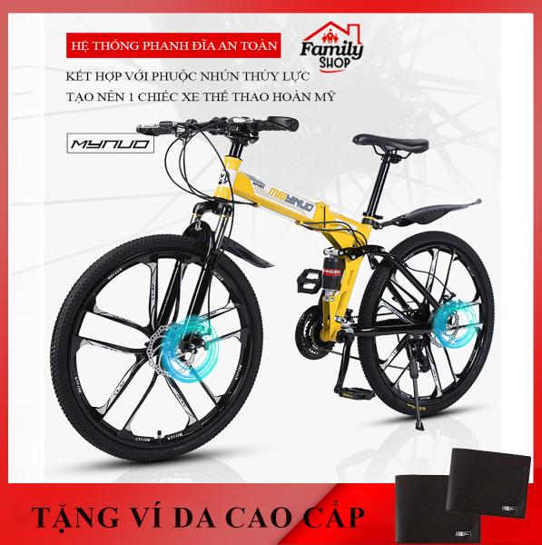 Mua xe đạp thể thao- xe đạp địa hình gấp gọn