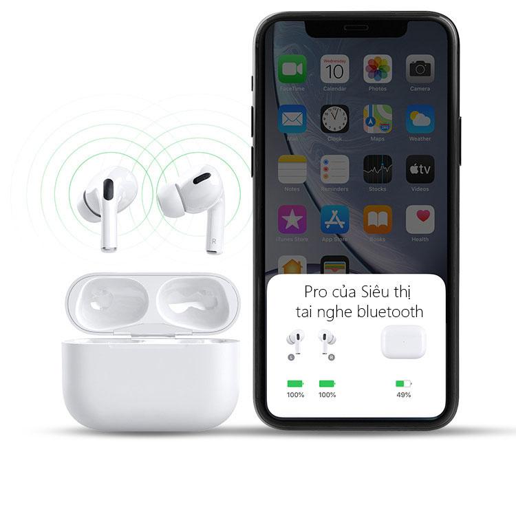 Tai nghe Bluetooth, tai nghe không dây, tai nghe, tai nghe bluetooth khong day chất lượng âm thanh HD dùng cho điện thoại Iphone, Samsung, Sony, Oppo, Vivo, Xiaomi giá rẻ, pin trâu