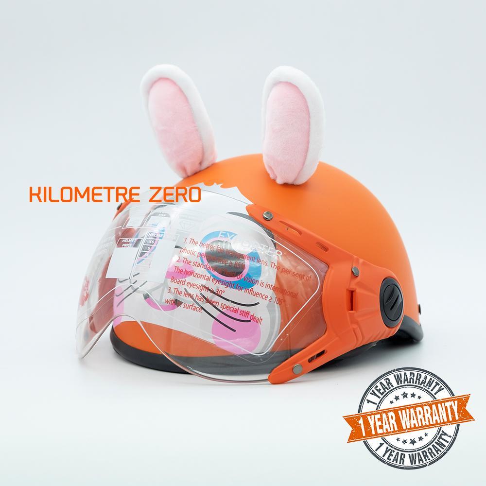Giá bán Mũ Bảo Hiểm Trẻ Em Proma TL77 Con Thỏ Có Kính