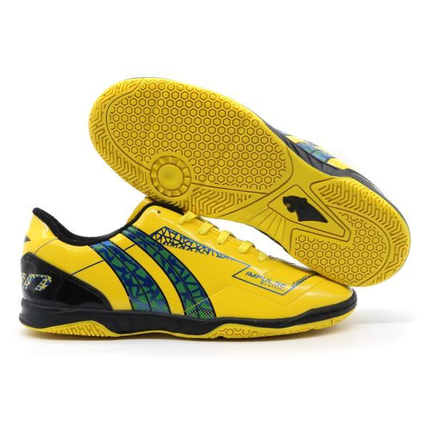 Giày đá bóng futsal Pan Impulse Graffity IC Vàng