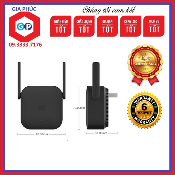 Bảng giá Kích sóng Wifi Xiaomi Repeater Pro Chính hãng - Bản Quốc Tế Phong Vũ