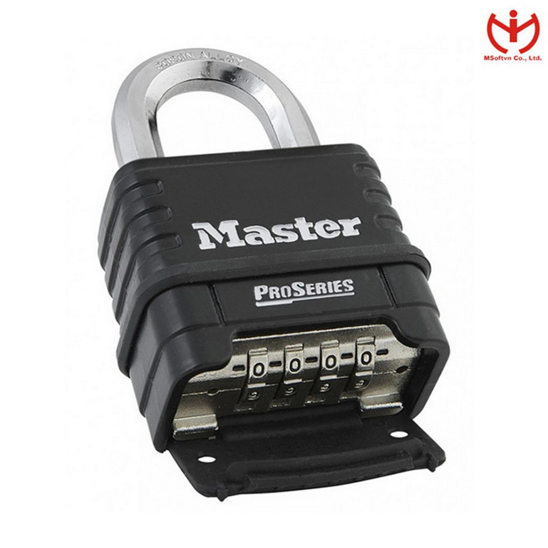 Khóa Số Chống Cắt Master Lock 1178 D Thân Rộng 57mm Càng Bát Giác 10mm - MSOFT