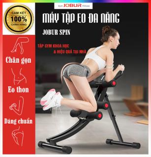 Máy tập Gym đa năng Jobur - tác động đồng thời lên cơ bụng, lưng, tay, ngực, hông, eo - nhanh chóng định hình vóc dáng thumbnail