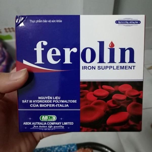 [COMBO 3 HỘP] Thực phẩm bảo vệ sức khỏe FEROLIN giá rẻ