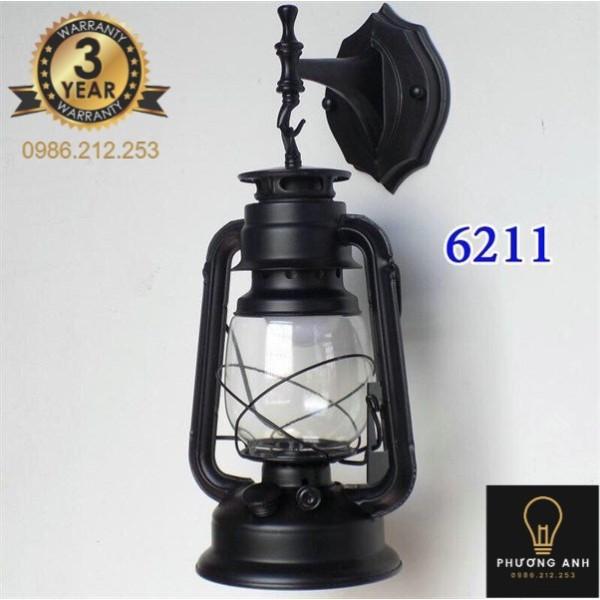 Bảng giá Đèn gắn tường đèn dầu bão trang trí nội ngoại thất phòng khách phòng ngủ, hành lang mã 6211- Đèn Phương Anh