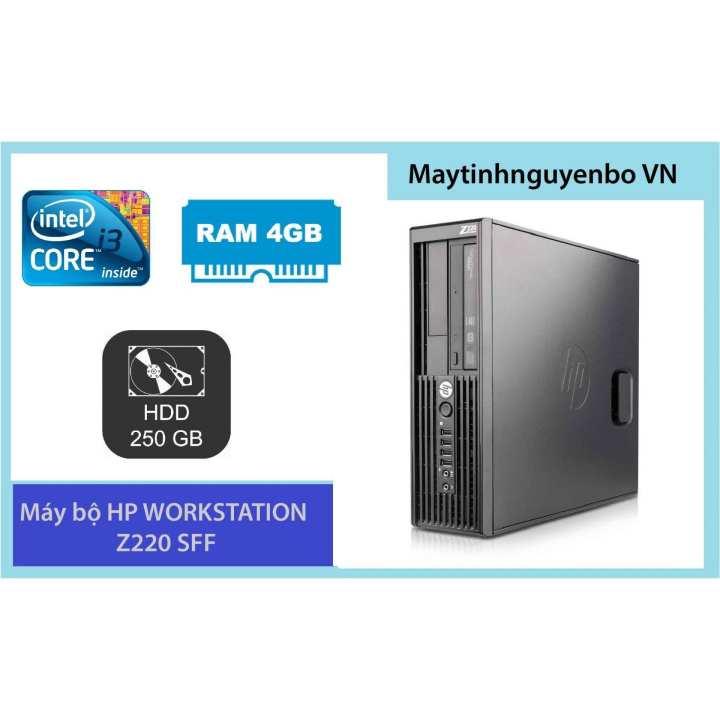 Máy Tính Đồng Bộ HP WORKSTATION Z220 SFF Core I3 3220 Ram 4GB HDD 250GB