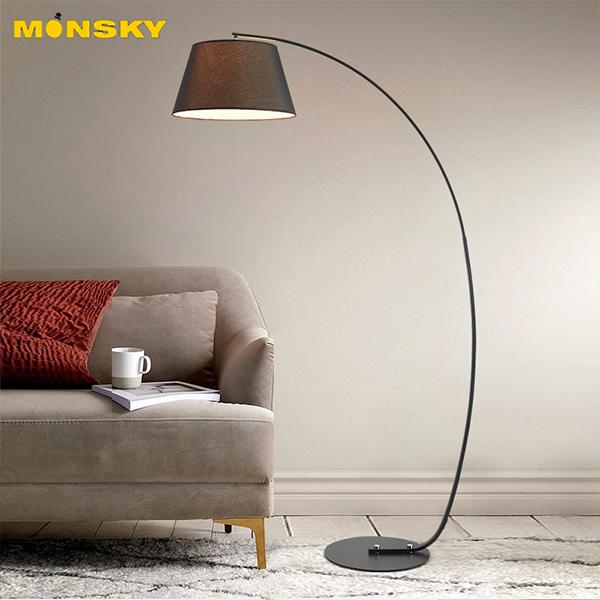Đèn đứng MONSKY ROTSE để sàn cao cấp phòng khách sang trọng DC9002 - Kèm bóng LED cao cấp.