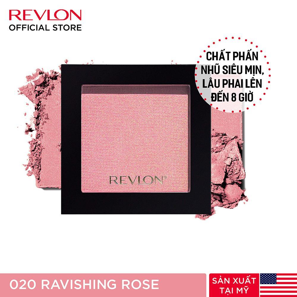 Phấn má hồng siêu mịn Revlon Powder Blush 5g tốt nhất