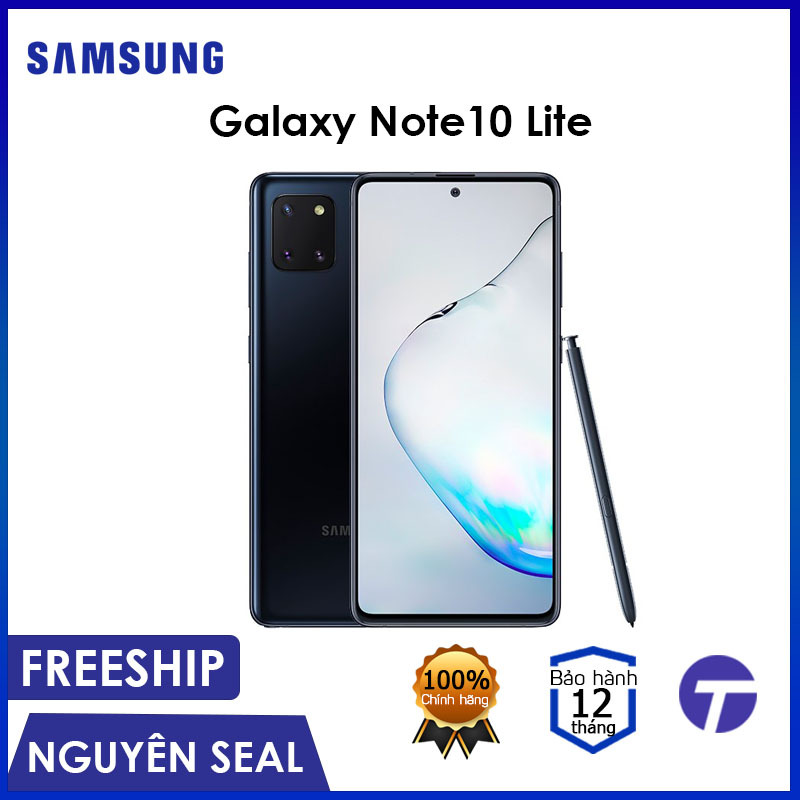 Điện thoại Samsung Galaxy Note 10 Lite 8GB/128GB - Bút S Pen nhiều tính năng, Pin khủng 4500mAh, Màn hình vô cực - Bảo hành 18 tháng
