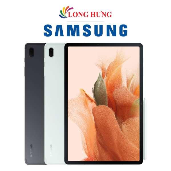 Máy tính bảng Samsung Galaxy Tab S7 FE - Hàng Chính Hãng - Thiết kế thời trang Màn hình 12.4inch thoải mái Dung lượng pin sử dụng cả ngày dài chính hãng