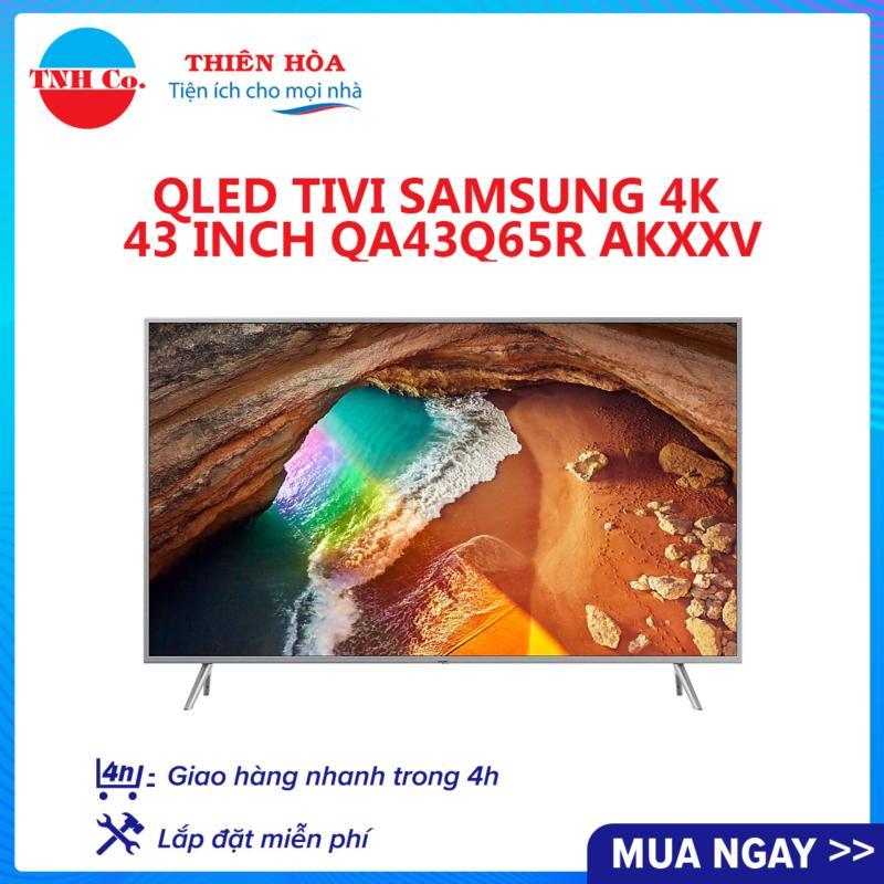 Bảng giá Smart Qled Tivi Samsung 4K UHD 43 Inch QA43Q65RAKXXV (Bạc) kết nối Internet Wifi - Smart Hub - Bảo hành 2 năm