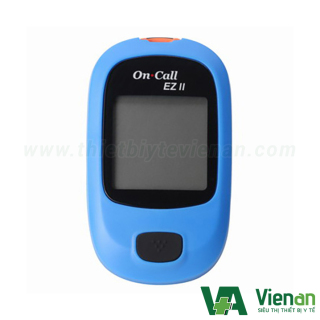 Máy đo đường huyết ON CALL EZ 2 - Tặng kèm 75 que thử - BH trọn đời thumbnail
