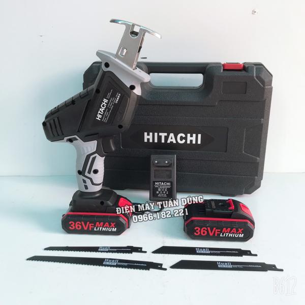 Máy cưa kiếm dùng pin cầm tay Hitachi 36V KÈM 2 PIN TẶNG 4 LƯỠI CƯA