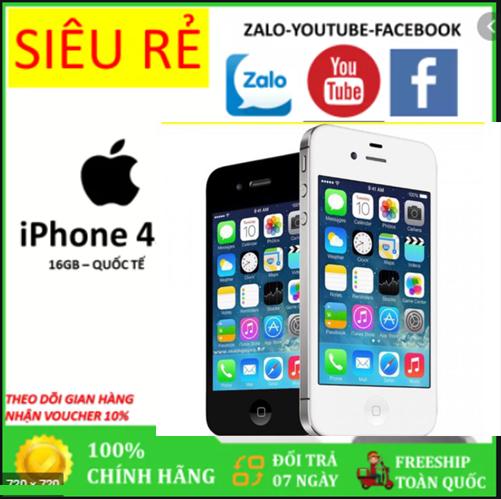 Điện thoại Xịn cảm ứng Giá rẻ - IP4 16G/8gb Quốc Tế sim nghe gọi - BH 12 tháng
