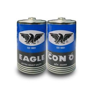 Pin Con Ó (EAGLE) R20P Vỏ Sắt Tây Xanh - 1 hộp 12 viên thumbnail