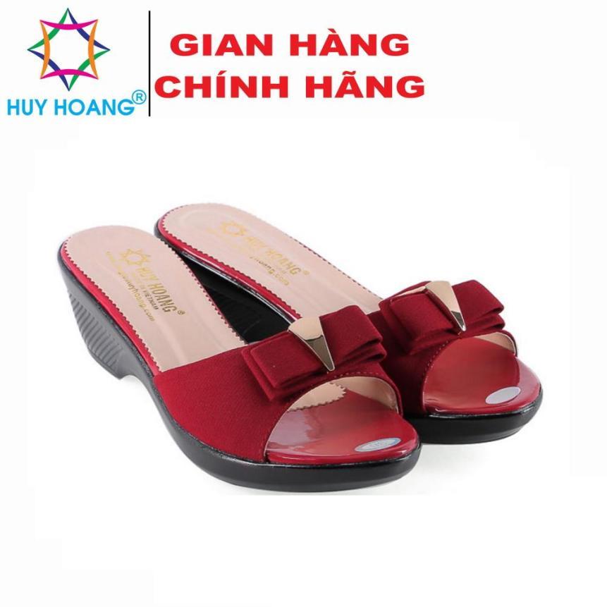 Dép nữ thời trang Huy Hoàng màu đỏ HK7934 giá rẻ