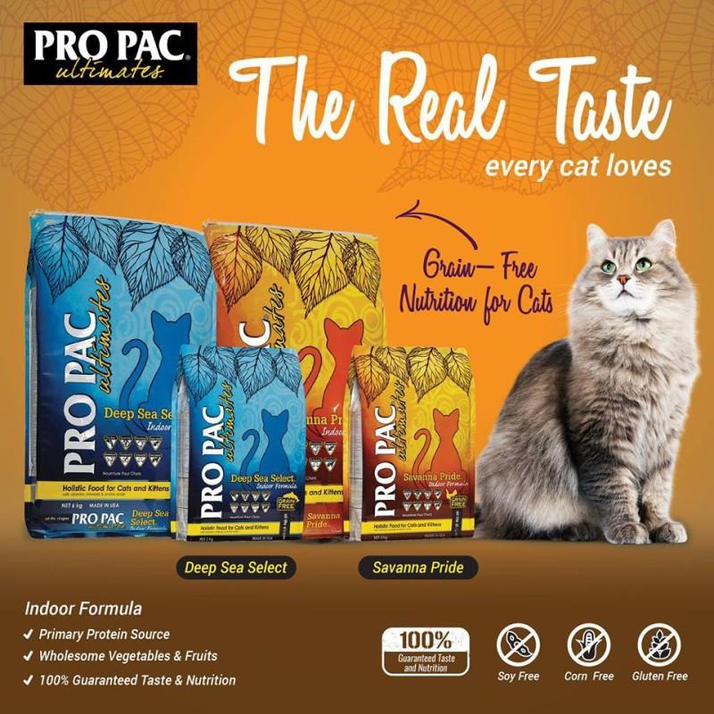 Hạt Pro Pac không ngũ cốc cho mèo 2kg