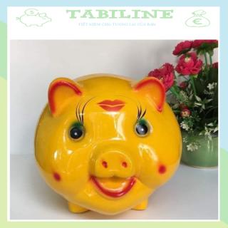 Lợn đất tiết kiệm đựng tiền size ĐẠI cute đẹp giá rẻ TABILINE LD05 thumbnail